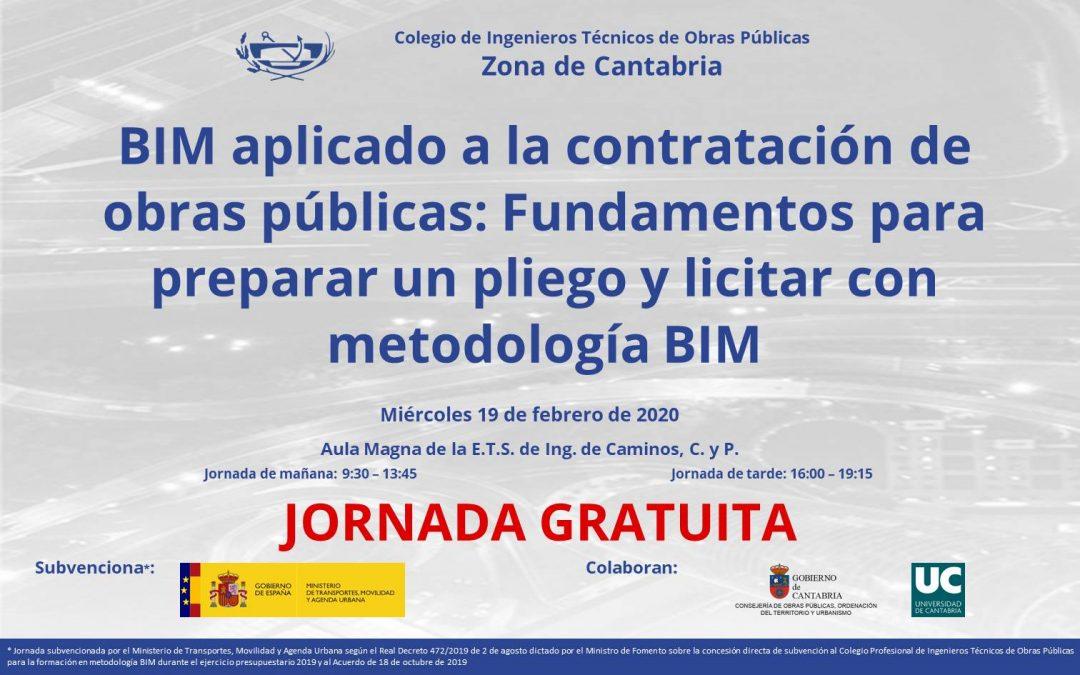 Jornada presentación de la Guía de apoyo BIM del CITOP
