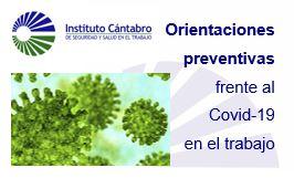 Guía preventiva del ICASST para evitar la transmisión del COVID-19 en el trabajo