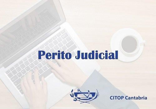 Actualización del listado de peritos judiciales