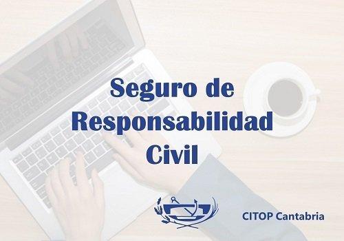 Renovación de la póliza del seguro de Responsabilidad Civil del CITOP